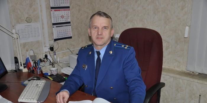 Прокурор Бабушкинского района Павел Васильевич Решетов.