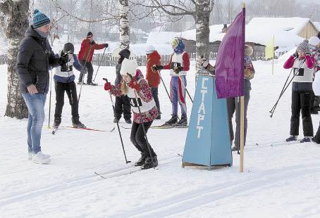 Первыми на старт вышли спортсмены младшей возрастной группы.