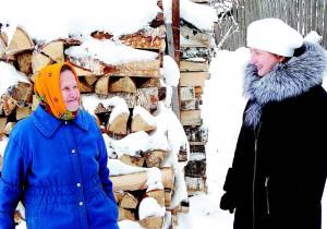 Дина Евстафьевна Свистунова и Наталья Казунина