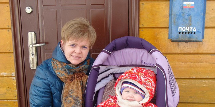 Оксана Лобанова и ее дочь Кира.