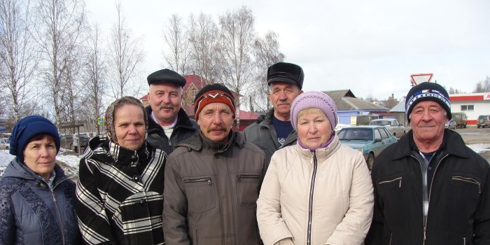 С хорошим настроением поехали домой команда сельского поселения Подболотное и его глава Сергей Чежин.