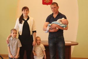 Многодетная семья Герман.