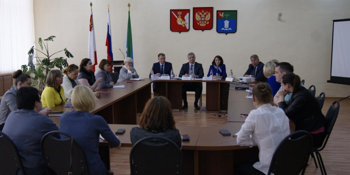 Андрей Луценко встретился с молодежным активом района.