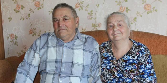 Дмитрий Андреевич и Лидия Алексеевна вместе уже 55 лет.