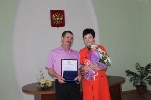 Семейная пара Петра Ивановича и Татьяны Степановны Шишовых.