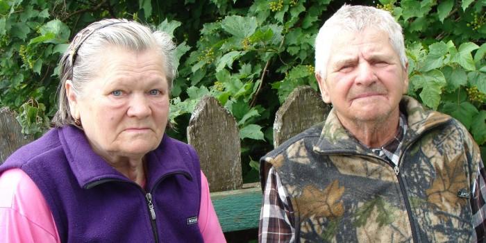 Супруги Людмила Ивановна и Дий Григорьевич Шушковы очень любят своих родных, для которых всегда откроют калитку.