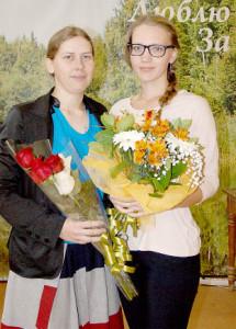 Наталия Сидорова и Анна Попова.