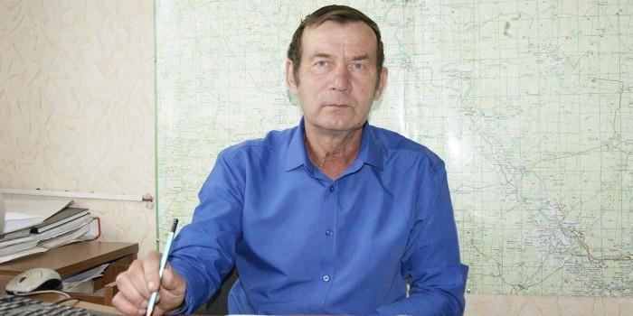 Сергей Томилов за работой.