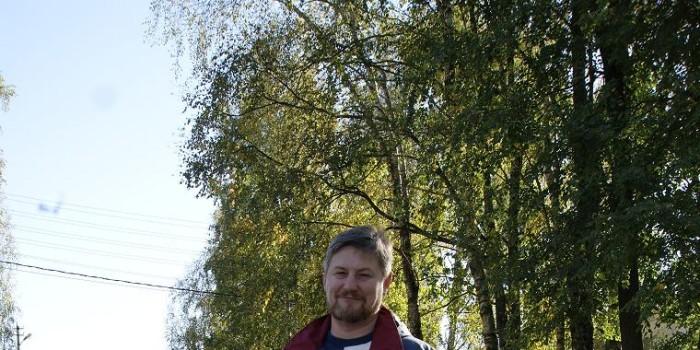 Владимир Вахрушев 22 сентября пересел из автомобиля на велосипед.