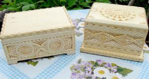 Эти шкатулки изготовил Алексей Киселев. Земляки покупают их для подарка родным и друзьям.