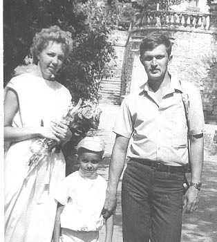 Семья Дуровых, 1989 г., г. Севастополь.
