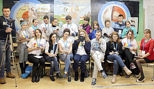 Участники площадки «Молодёжь и СМИ».