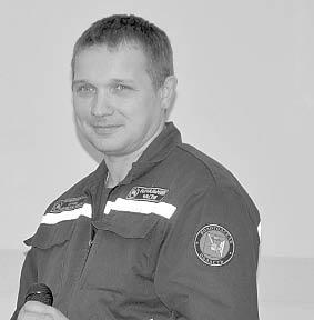 Валентин Литомин, руководитель пожарной части №144 с. им. Бабушкина: «Будьте бдительны. Это убережёт вас от пожаров».