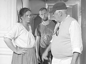 Во время съёмок фильма «Золотой транзит».