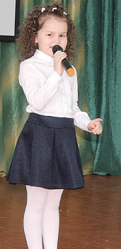 Арина Лаврова, воспитанница центра дополнительного образования села им. Бабушкина.