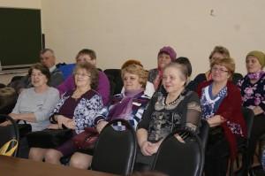 В работе пленума ветеранов приняли участие делегации ветеранских организаций района.