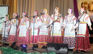 Образцовый художественный коллектив ансамбль народной песни «Веснянка»