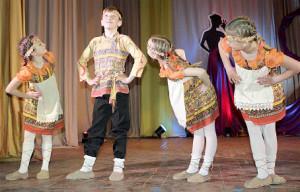 Коллектив «Карамельки» из Тотьмы.