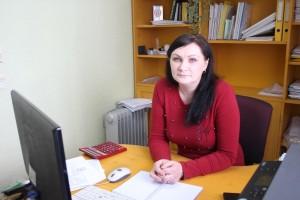 Алёна Черепанова на любимой работе.