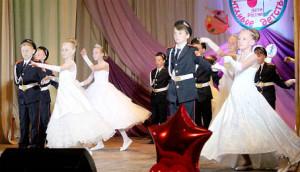 «Кадетский вальс» в исполнении учеников Бабушкинской школы