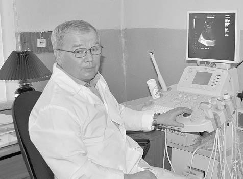 Главный врач Бабушкинской ЦРБ Василий Коршунов за работой.