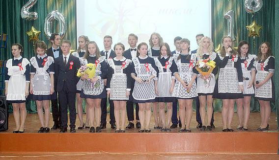 Выпускники 11 класса Бабушкинской школы.