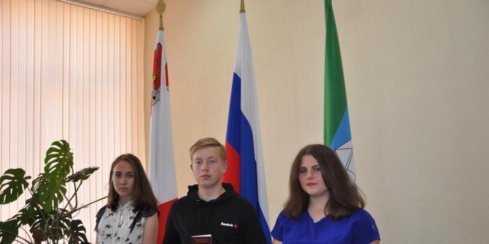 Анастасия Самыловская, Андрей Бахарев и Дарья Коныгина.