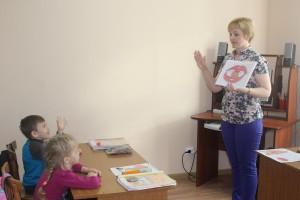Занятие ведет Наталья Дерягина.