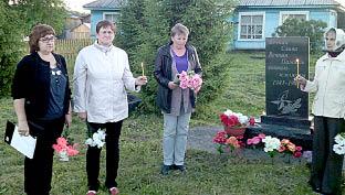 Акция «Свеча памяти» в Тимановском поселении. Фото со страницы «Тимановская сельская библиотека» в соцсети «ВКонтакте».