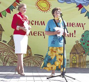 Тамара Красикова поздравила жителей райцентра с праздником.