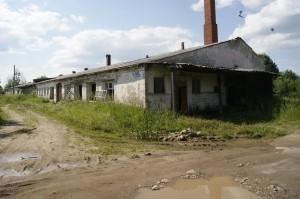 В таком состоянии находится теперь здание бывшего хлебокомбината в селе имени Бабушкина.