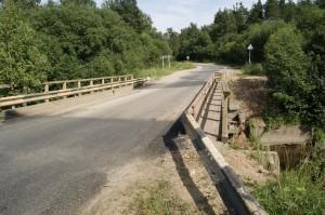 Аварийный мост через реку Леденьгу нужно реконструировать.