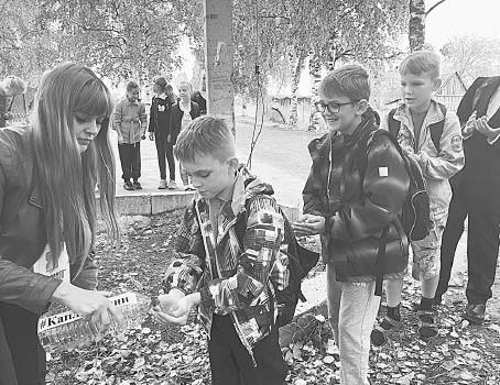 Во время всероссийской акции «Капля жизни».