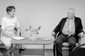 Встреча с Николаем Комаровым прошла в музее в дружеской обстановке.