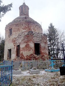 Великодворская церковь. Автор - Алена Анфалова.