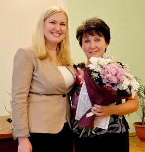 Татьяна Жирохова и Галина Илюшина.