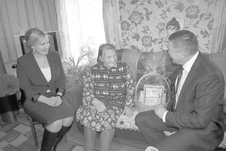 Капитолина Андреева принимала гостей в своем доме.