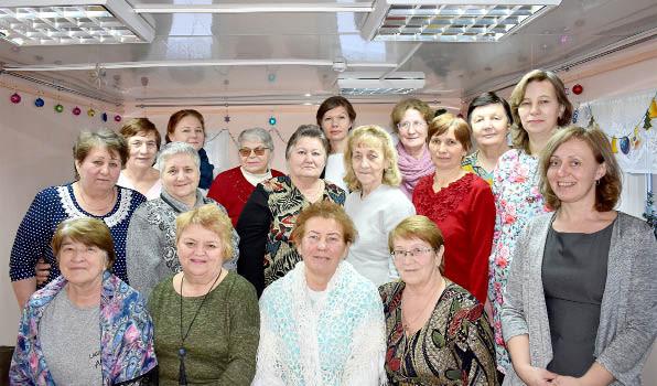 Татьянин день в Бабушкинском районном историческом музее; фото на память.