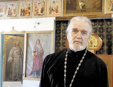 Настоятель Миньковского храма Рождества Иоанна Предтечи Олег Дыбов.