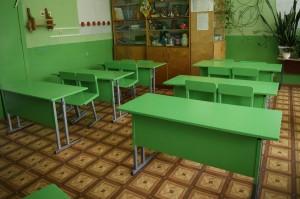 Косметический ремонт проведен в классных кабинетах.