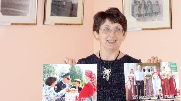 Елена Сысоева тепло вспоминает 2015-й год, когда хлебом-солью встречала дорогих гостей на нашей земле.