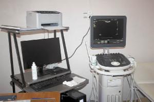 Так сейчас выглядит автоматизированное рабочее место врача ультразвуковой диагностики.