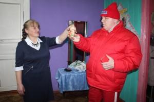 Вера Девятилова и Сергей Рычков.
