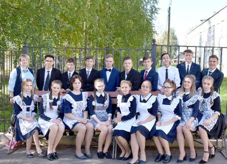 Выпускники Бабушкинской школы.