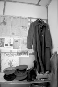 Экспонаты музея Подболотной школы.