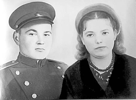 Василий Семенович и Лидия Евгеньевна Харины.