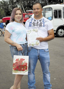 Молодожены Алексей и Анна Поповские. Совет да любовь!