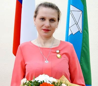 Ольга Шумилова, многодетная мама, воспитывающая пятерых детей.