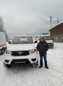 Анатолий Шиловский новой проходимой техникой доволен.