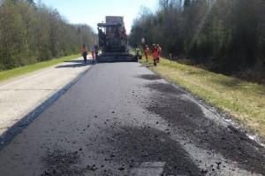 Дорога Тотьма-Никольск ремонтируется.